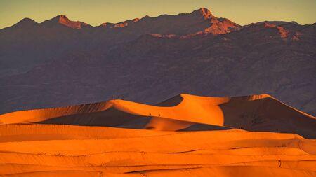 The landmarks and geologic wonder of Death Valley National Park Stock fotó - 130116572