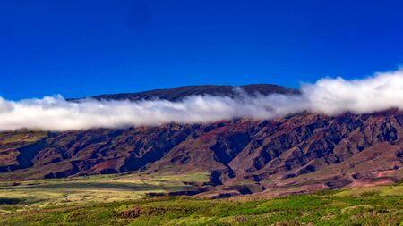 Beautiful scene on Haleakala volcano, Maui island, Hawaii