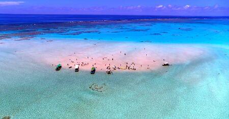 Kagoshima Prefecture Yoron Island Beach Stock fotó - 130116730