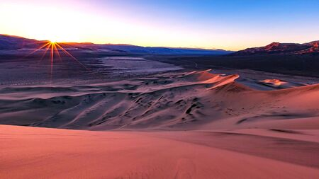 The landmarks and geologic wonder of Death Valley National Park Stock fotó - 130116760