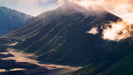 Beautiful scene on Haleakala volcano, Maui island, Hawaii Stock fotó - 130116781