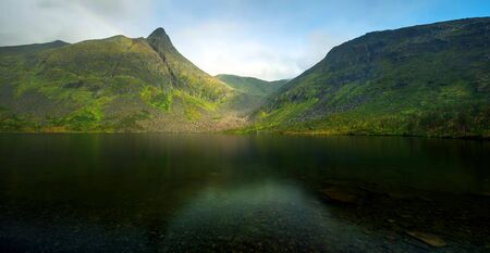 Lofoten islands is an archipelago in the country of Nordland, Norway Stock fotó