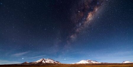 Night sky at Atacama Desert, South America.