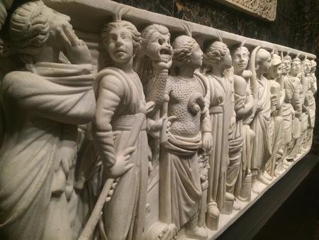 Roman sarcophagus of Praecilia Severiana