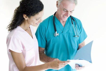 Doctor and nurse LANG_EVOIMAGES