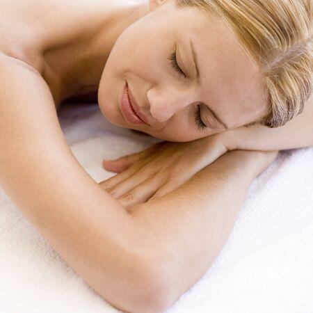 rejuvenated: Woman resting LANG_EVOIMAGES