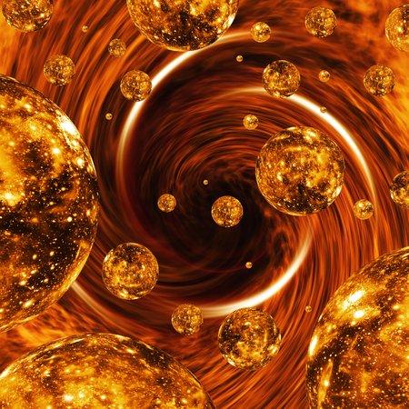 spacetime: Parallel universes, artwork LANG_EVOIMAGES