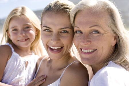 three generations of women: Generations