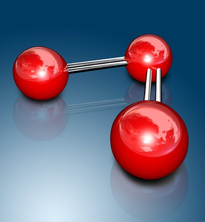 ozone: Ozone molecule