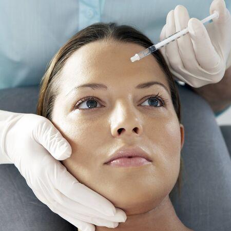 in vain: Botox treatment