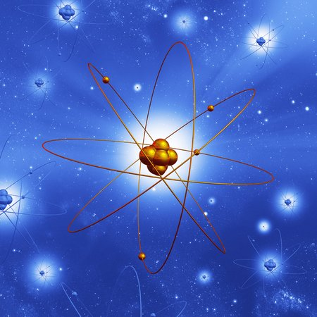 Atomic structure, artwork