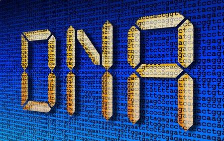 DNA lettering