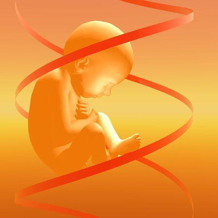 alteration: Designer baby, artwork LANG_EVOIMAGES