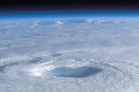 isabel: Eye of hurricane Isabel