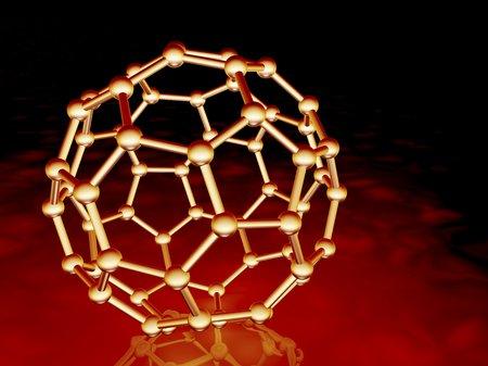 truncated: Buckminsterfullerene molecule LANG_EVOIMAGES