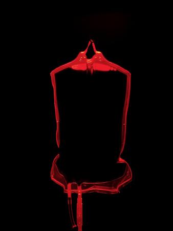 full suspended: Blood bag LANG_EVOIMAGES
