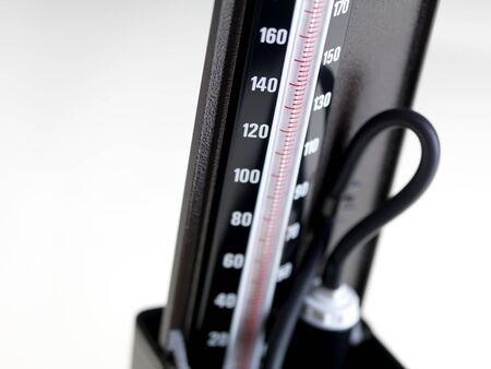 diastolic: Blood pressure gauge