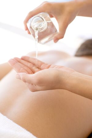 complementary therapies: Massage oil