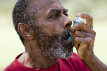 treating: Treating an asthma attack LANG_EVOIMAGES