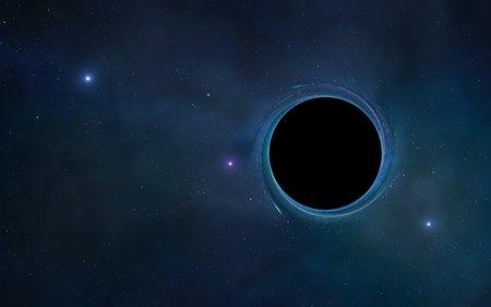spacetime: Black hole,artwork