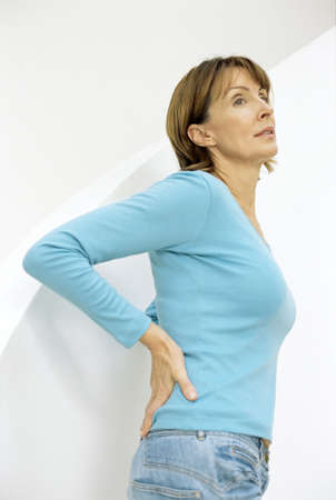 tensed: Lower back pain