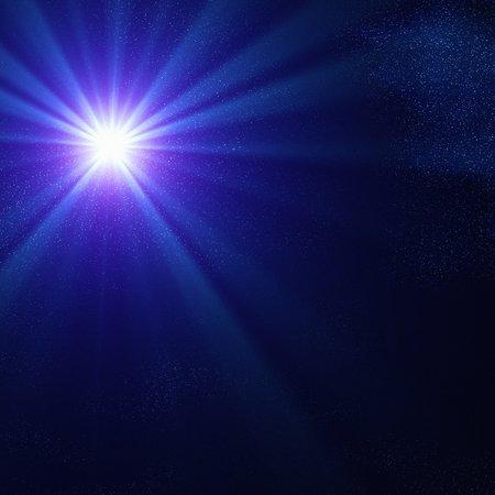 astrophysical: Blue supergiant star,artwork LANG_EVOIMAGES