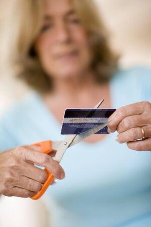 overspending: Credit card debt