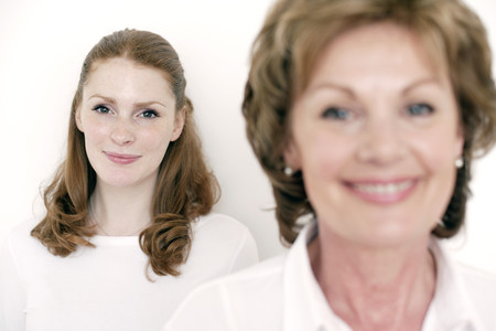 mothering: Mother and daughter