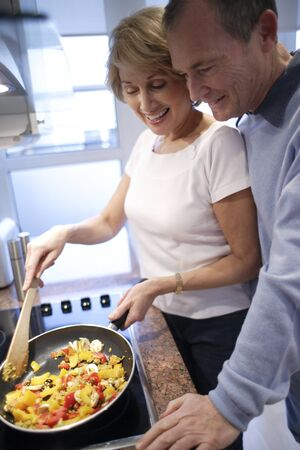 hobs: Couple cooking