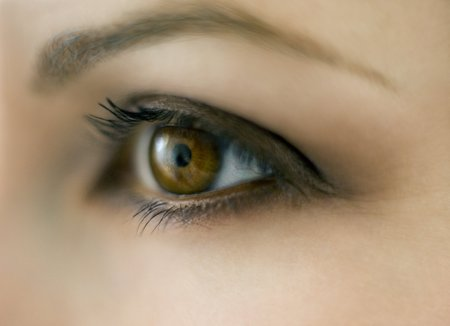 Womans eye LANG_EVOIMAGES