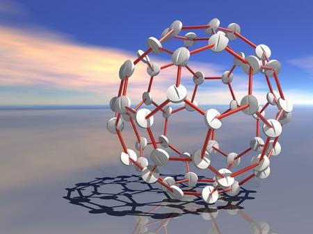 Medical nanoparticles,conceptual image