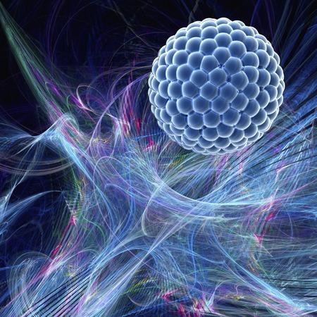 Nanoparticle,artwork