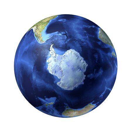 temperate region: Antarctic,computer artwork