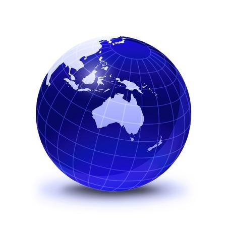 temperate region: Australasia,computer artwork