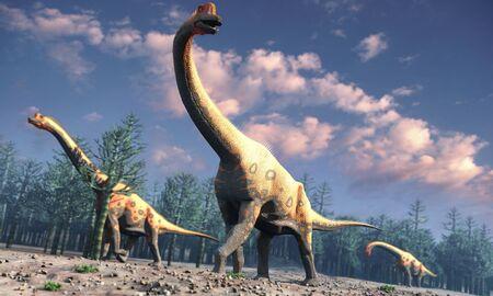 Artwork of brachiosaurus LANG_EVOIMAGES