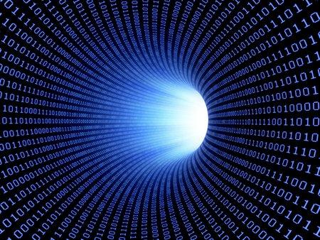 Data stream,conceptual computer artwork