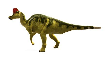 Hadrosaurus dinosaur,artwork
