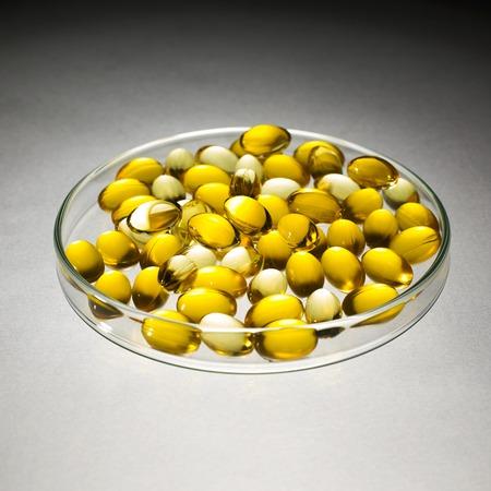 cod liver: Cod liver oil pills