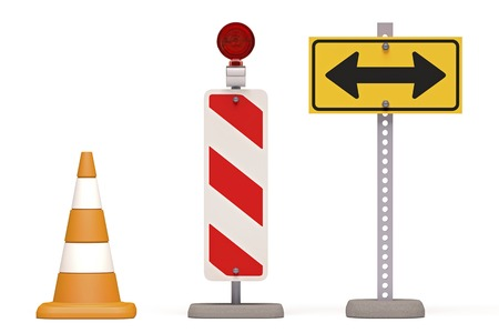 Roadworks,conceptual artwork