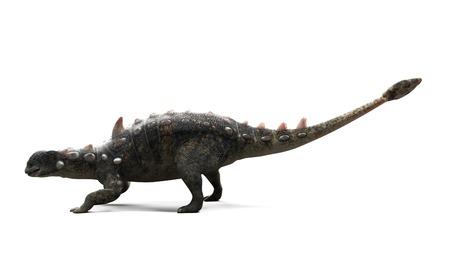 Euoplocephalus dinosaur,artwork LANG_EVOIMAGES