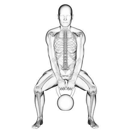 Kettlebell workout,artwork LANG_EVOIMAGES