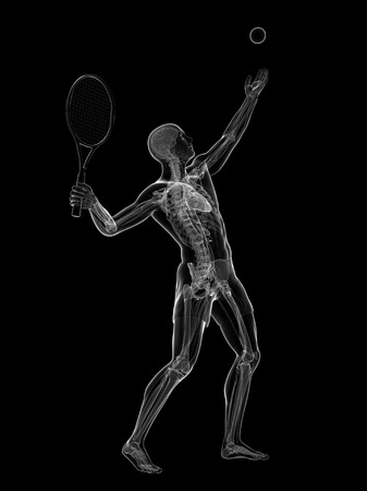 Tennis player,artwork