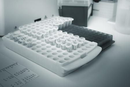rna: Microtubes of rna samples