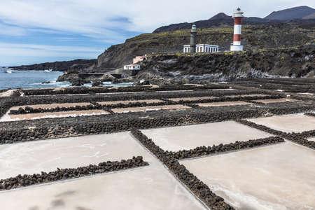 extracted: Salt pans, La Palma, Canary Islands