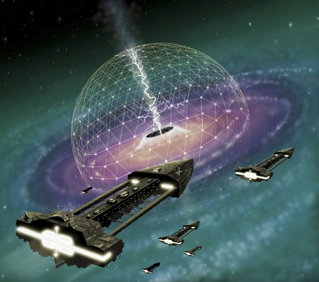 Mining Energy from a Black Hole