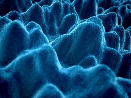 silicone: Silicone, close up., illustration