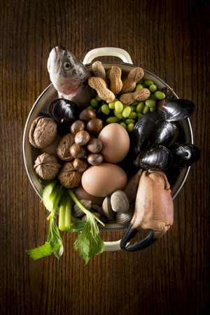 alergenos: Foods that can all be allergens