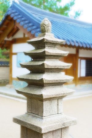 stereotypically: Japanese architecture