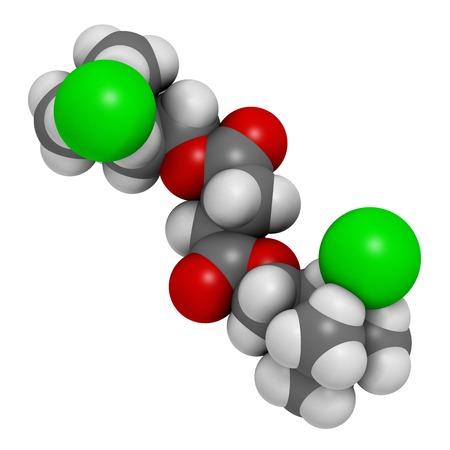 acetylcholine: Suxamethonium chloride molecule