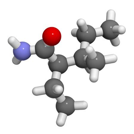 allotrope: Valnoctamide sedative drug molecule